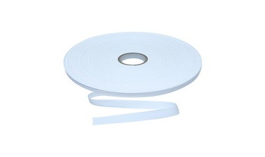 What is the reason for the easy pilling on the surface of the polyester ribbon?
